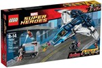 76032 - LEGO Marvel Super Heroes 76032 The Avengers QuinjetCityChase-76032