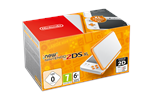 2209366 - Nintendo New 2DS XL - White & Orange