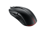 90MP00J0-B0UA00 - ASUS ROG Strix Evolve Ambidextrous Gaming Mouse - Gaming mus - Optisk - 8 - Svart med RGB-lys