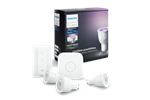 929000261761 - Philips Hue Color 3 x GU10 Pærer + Switch Starter Kit