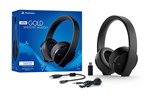 9455165 - Sony PS4 New Official Gold Wireless Headset 7.1 Black - Hodesett - Sony Playstation 4