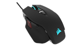 CH-9309011-EU - Corsair M65 Pro ELITE RGB - Black - Gaming mus - Optisk - 8 - Svart med RGB-lys