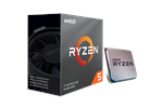 100-100000031BOX - AMD Ryzen 5 3600 Wraith Stealth Prosessor - 3.6 GHz - AMD AM4 - 6 kjerner - AMD Boxed (PIB - med kjøler)