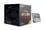 100-100000022BOX - AMD Ryzen 5 3600X Wraith Stealth Prosessor - 3.8 GHz - AMD AM4 - 6 kjerner - AMD Boxed (PIB - med kjøler)