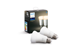 929001821605 - Philips Hue White LED E27 Pære - BT- 2-pakk