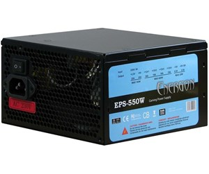 88882048 - Inter-Tech Energon EPS-550W Strømforsyning (PSU) - 550 Watt - 120 mm - 80 Plus