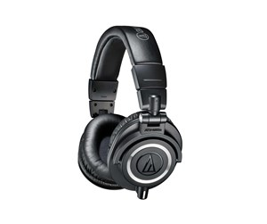 ATH-M50X  - Audio-Technica ATH M50X - Black - Svart
