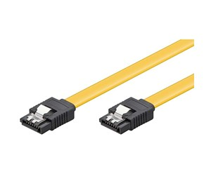 4040849950193 - Pro SATA Cable - Yellow - 0.3m