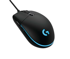 910-004857 - Logitech G PRO Gaming Mouse - Gaming mus - Optisk - 6 - Svart med RGB-lys