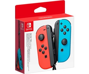 2510166 - Nintendo Joy-Con Controllers (Pair) Neon Blue & Red - Gamepad - Nintendo Switch