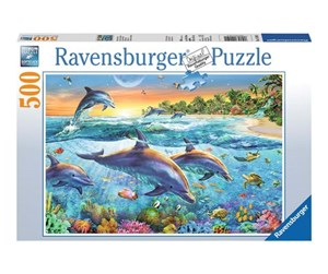 142101 - Ravensburger Dolphin Cove - 500pcs