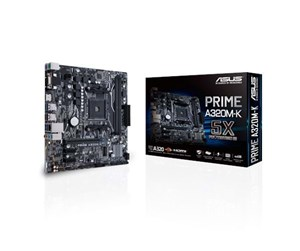 90MB0TV0-M0EAY0 - ASUS PRIME A320M-K Hovedkort - AMD A320 - AMD AM4 socket - DDR4 RAM - Micro-ATX