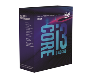 BX80684I38350K - Intel Core i3-8350K Coffee Lake Prosessor - 4 kjerner 4 GHz - Intel LGA1151 - Intel Boxed