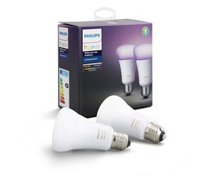 929001257363 - Philips Hue Color E27 Pære - Richer Colors - 2-pakk