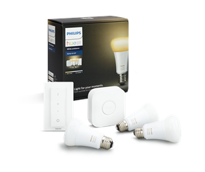 929001200161 - Philips Hue White Ambiance 3 x E27 Pærer + Switch Starter Kit