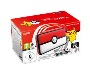 0045496504670 - Nintendo New 2DS XL Poké Ball Edition