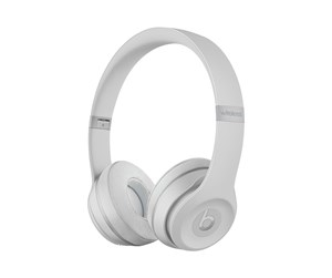 MR3T2ZM/A - Apple Beats Solo3 Wireless - Matte Silver - Sølv
