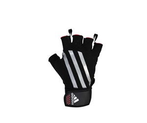 420-123432 - Adidas Gloves Weight Lift Striped L