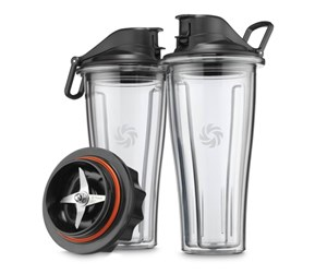 703113632334 - Vitamix Accessories Starter Kit 2x600ml To-Go Cups with Base - 0 W (accessories)