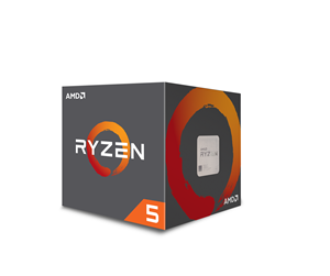 YD260XBCAFBOX - AMD Ryzen 5 2600X with Wraith Spire - Pinnacle Ridge Prosessor - 6 kjerner 3.6 GHz - AMD AM4 - AMD Boxed (PIB - med kjøler)