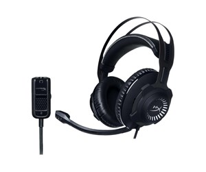 HX-HSCR-GM - Kingston HyperX Cloud Revolver - Gun Metal - Svart