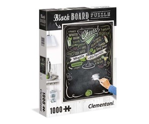 39467 - Clementoni 1000 pcs- CHALKBOARD Puzzle Cheers