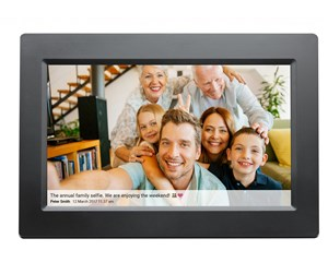 "DENVER PFF-1010BLACK - DENVER FRAMEO 10"" Photo Frame"