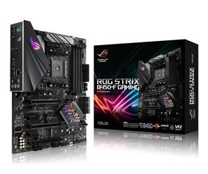ASUS ROG STRIX B450-F GAMING Hovedkort - AMD B450 - AMD AM4 socket - DDR4 RAM - ATX