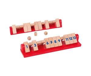 56834 - Goki Shut the Box Tricky 13 2 players