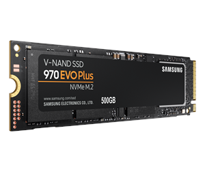 Samsung 970 EVO Plus SSD M.2 2280 - 500GB