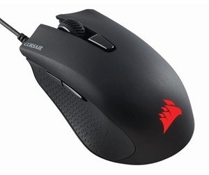 CH-9301111-EU - Corsair Harpoon RGB PRO - Gaming mus - Optisk - 6 - Svart med RGB-lys