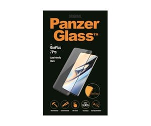 PANZER7008 - PanzerGlass OnePlus 7 Pro - Black (Case Friendly)