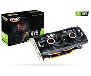 N207S2-08D6X-11801167 - Inno3D GeForce RTX 2070 SUPER Twin X2 OC - 8GB GDDR6 RAM - Grafikkort
