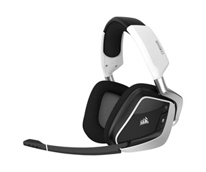 CA-9011202-EU - Corsair VOID RGB ELITE Wireless Gaming Headset - White - Hvit