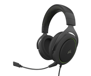 CA-9011216-EU - Corsair HS50 PRO STEREO Gaming Headset - Green - Grønn