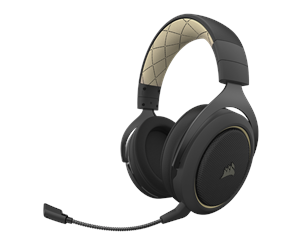CA-9011210-EU - Corsair HS70 PRO Wireless Gaming Headset - Cream - Svart