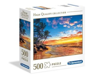 96701 - Clementoni 500 pcs. High Quality Collection SQUARE Paradise B Gulv