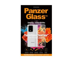 PANZER0237 - PanzerGlass Samsung Galaxy S20 Ultra ClearCase with TPU Cover