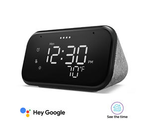 ZA740001SE - Lenovo Smart Clock Essential with Google Assistant