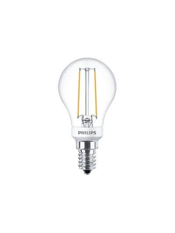 Philips LED-lyspre classic ledluster dimmable 27-25w p45 e14 827 clear E14