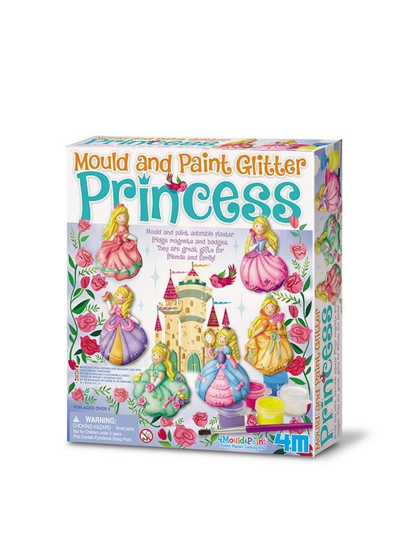 Bilde av 4m Mould & Paint-glitter Princess-4m-3528