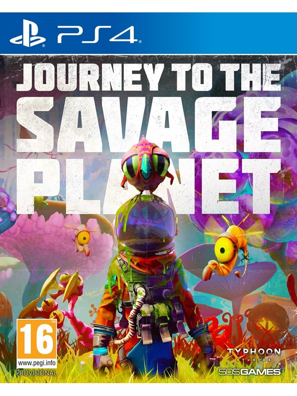 Bilde av Journey To The Savage Planet - Sony Playstation 4 - Action/adventure