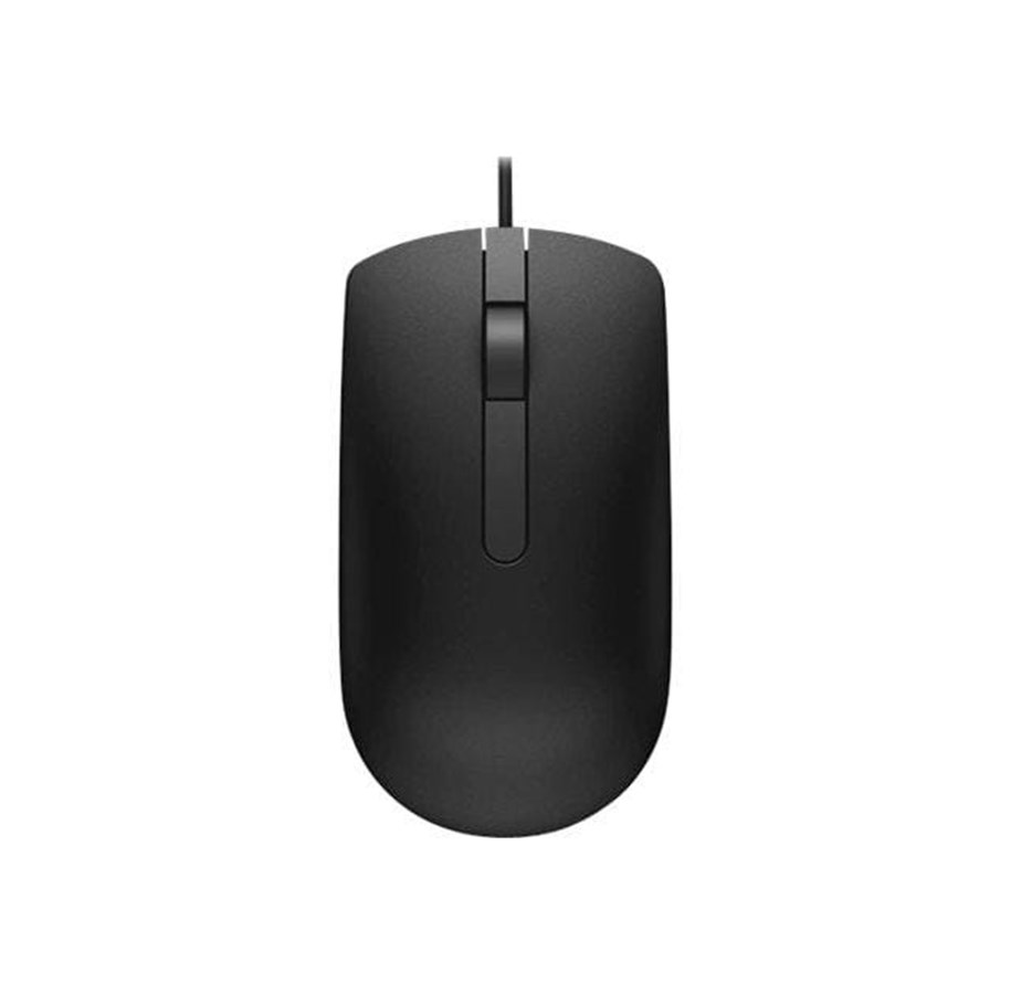 Dell MS116 Optical Mouse 1000dpi Mus Kablet Svart | Dustin.no