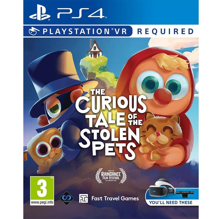 The Curious Tale of the Stolen Pets (VR) Sony PlayStation
